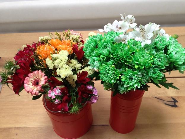 un po' di fiori e qualche colore non fanno mai male...